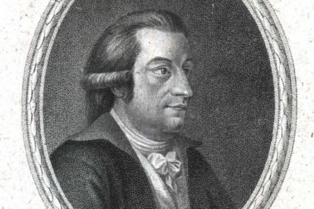 Porträt Franz Xaver von Zach
