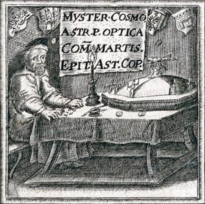 Selbstporträt Johannes Kepler