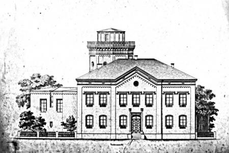 Neue Sternwarte Gotha, 1865