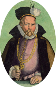 Porträt von Tycho Brahe
