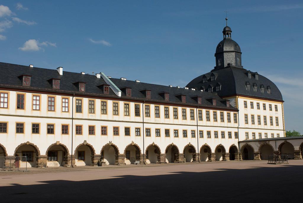 Himmelsspektakel_Schloss_Friedenstein_Ostfluegel