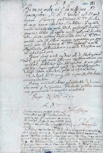 Johannes Kepler. Brief an Stephan Gerlach