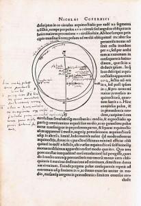 Nicolaus Copernicus. De revolutionibus orbium coelestium libri