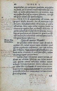 Philipp Melanchthon. Initia doctrinae physicae.