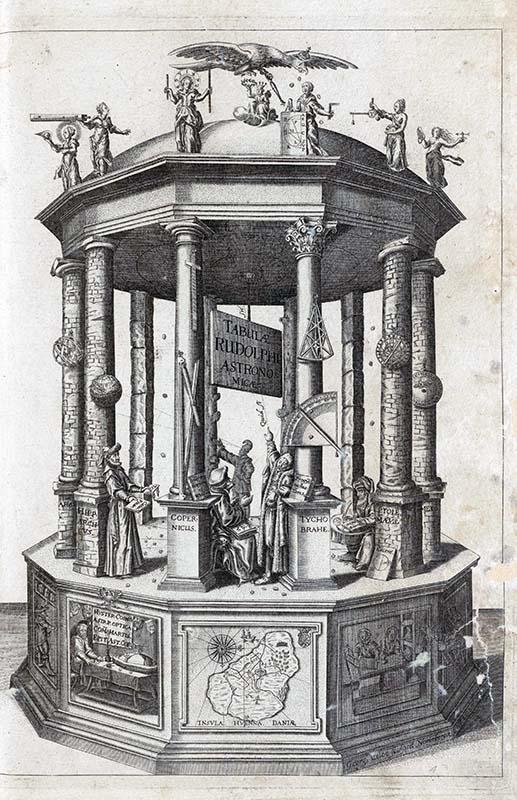 Johannes Kepler. Tabulae Rudolphinae