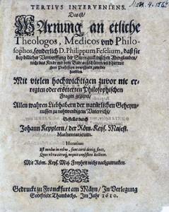 Johannes Kepler Tertius interveniens