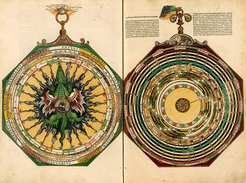 Petrus Apian. Astronomicum Caesareum