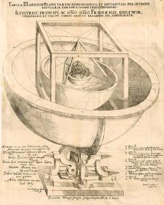 Sternenbote_Johannes Kepler. Prodromus dissertationum cosmographicarum, continens mysterium cosmographicum.